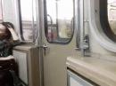 Поездка в вагоне метро 81 714 5М борт № 1490