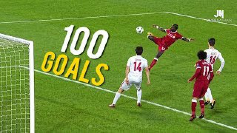 100 Amazing Goals of The Year 2017