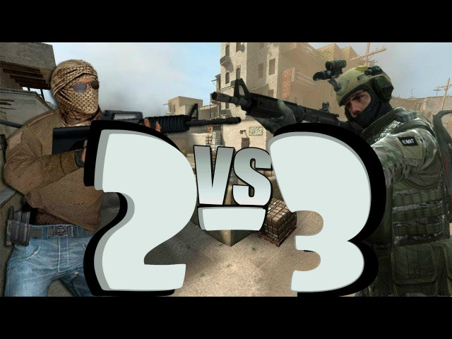 Битва БОГОВ в Counter Strike