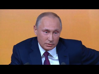 Анекдот от президента * Большая пресс-конференция президента (14.12.2017)