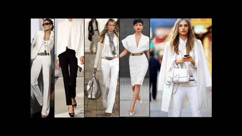 ЖЕНЩИНА В БЕЛОМ Роскошная женщина Luxury Fashion Woman in white