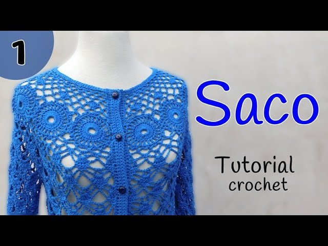 Como tejer un saco a crochet (13)