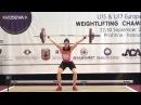 Women U17 69kg - 2017 EUROPEAN WEIGHTLIFTING CHAMPIONSHIPS U15 U17