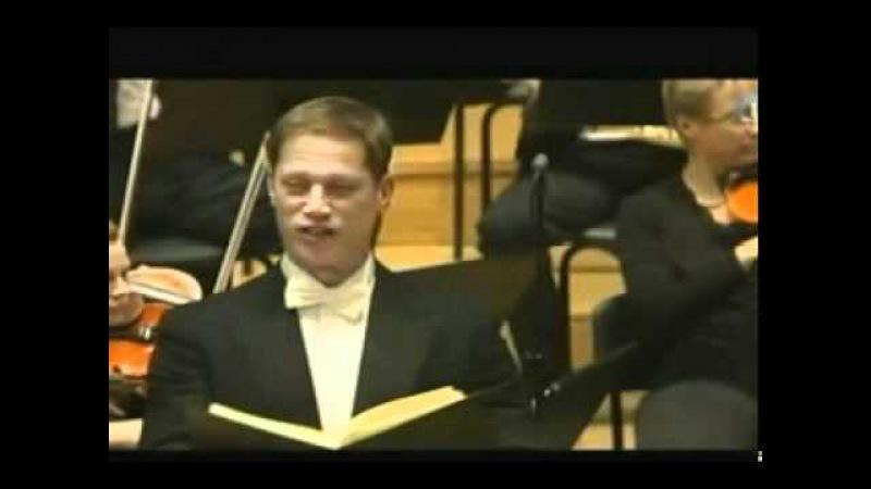 J. Haydn - Die Jahreszeiten - Schon eilet froh der Ackermann - Frühling - Randal Turner, Baritone