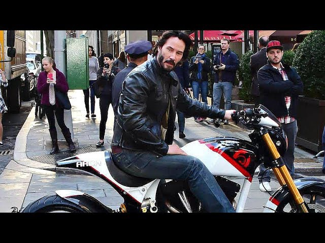 😎 Мотоциклы от Киану Ривза ARCH METHOD 143 2018 👍