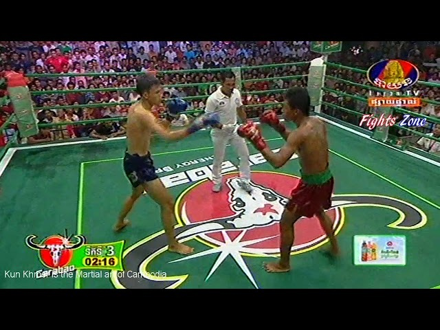 Kun Khmer, Chan Bunleap Vs Thai, Letkpetch Sit Wanloung, Bayon boxing, 11 March 2018 | Fights Zone