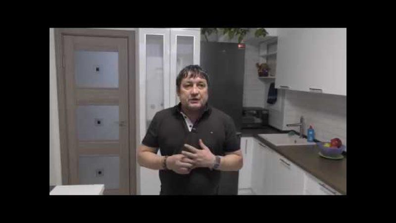 Кухня как 3д картинка в ЖК МАЙ