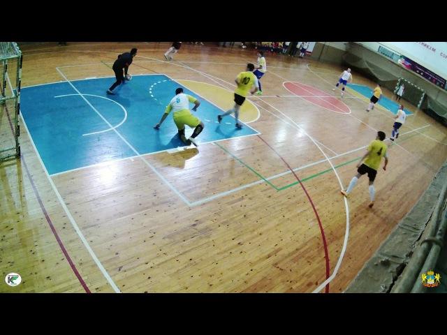 ИУЭФ КГУ - Льнянщик 3:1 IV Чемпионат Костромской области по мини-футболу (26.11.17) фрагмент матча