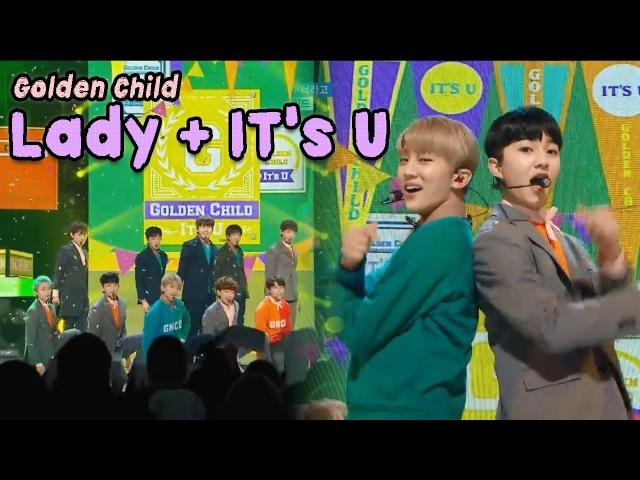 [Comeback Stage] GOLDEN CHILD - LADY It's U, 골든차일드 - LADY 너라고 Show Music core 20180203