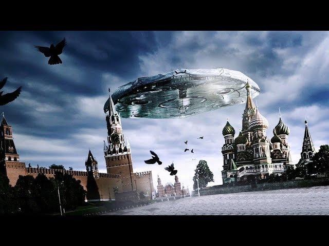 НЛО уже даже не прячутся Камера сняла как после появления НЛО резко изменилась погода Загадки челове