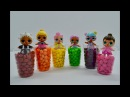 Learn Colors with LOL Surprise Dolls Skittles Candy