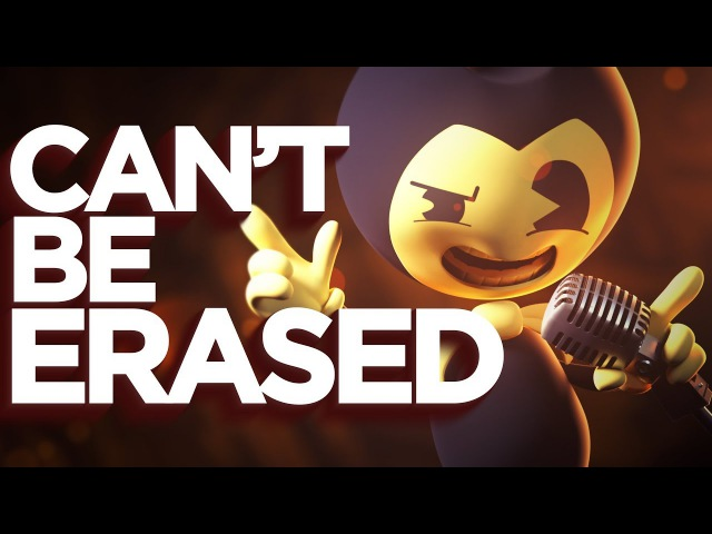 [SFM] Cant Be Erased (JT MachinimaMusic) - Bendy and the Ink Machine Rap