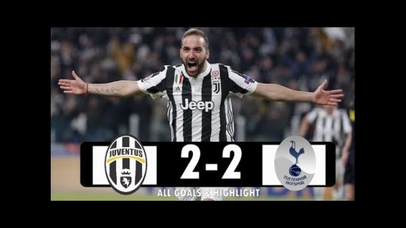 Juventus vs Tottenham 2 2 All Goals Highlights Extended 2018