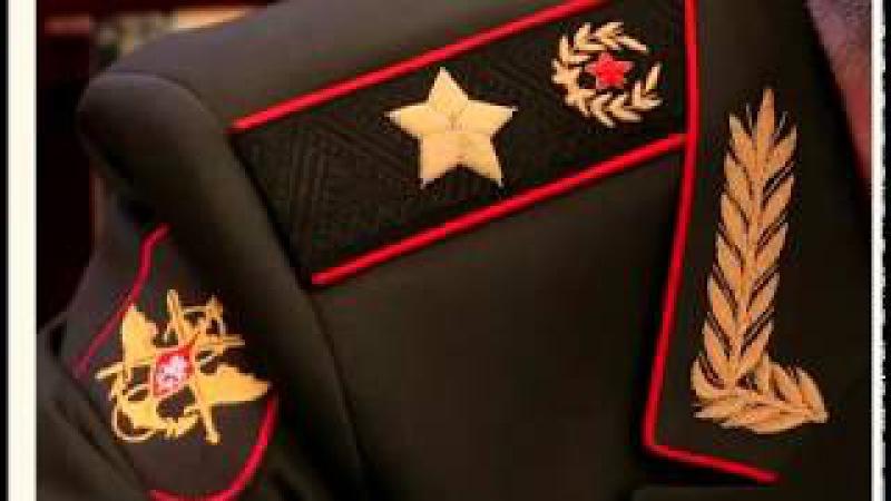 Что изображено на погонах Министра обороны РФ? [20.01.2018]