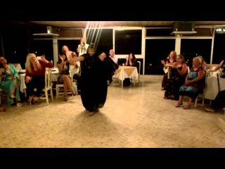 Zahra dancing sahraoui dance at Nawarra's Funoon Dance Camp