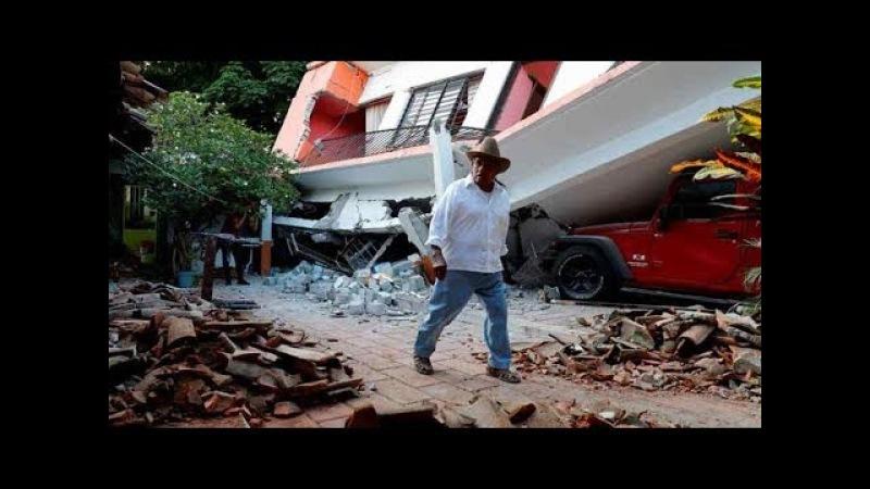 Terremoto de magnitud 7.2 en Oaxaca, Mexico 2018