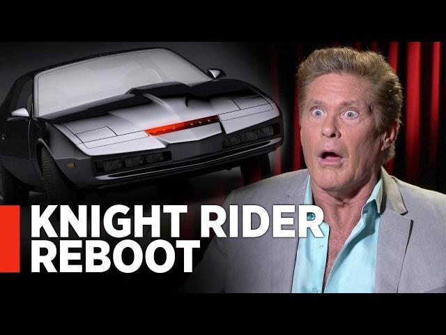 David Hasselhoff On James Gunn's KNIGHT RIDER REBOOT