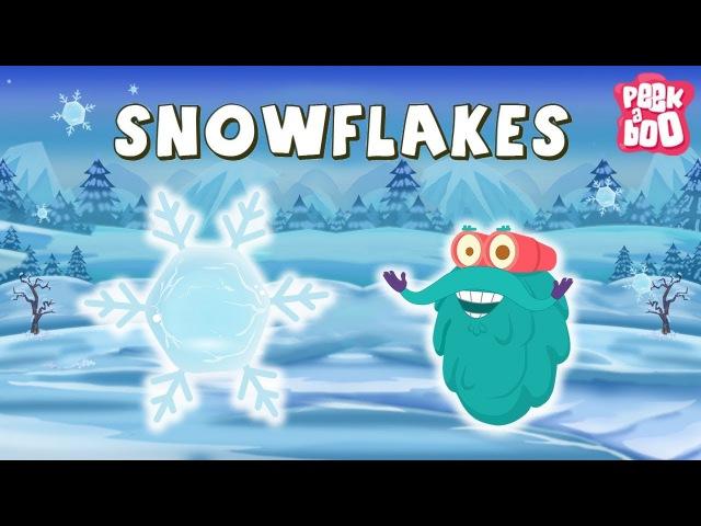 SNOWFLAKES Dr Binocs Best Learning Videos For Kids Dr Binocs Peekaboo Kidz