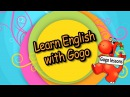 Gogo lessons - free English course for children!