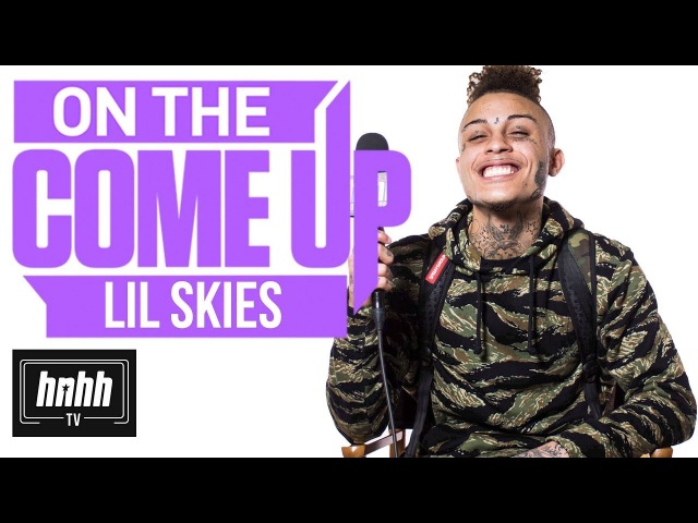 Lil Skies on Red Roses, Dad Rapping, Mixtapes at McDonalds More (HNHH's On The Come Up)