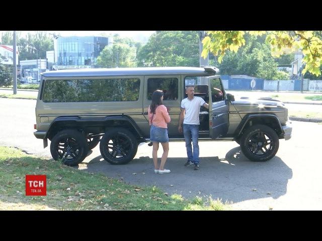 На Дніпропетровщині троє майстрів створили в гаражі величезний позашляховик