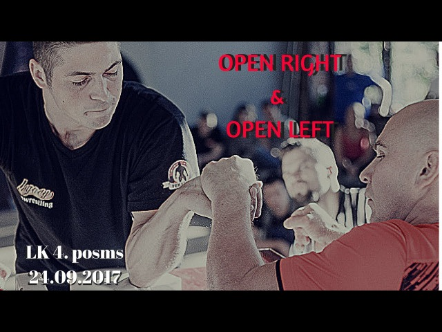 LK 4 posms OPEN LEFT RIGHT (LABĀ KREISĀ ROKA) | 24.09.2017 |