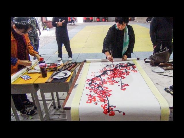 Известные художники Китая. Каллиграфия.