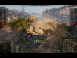 World Of Tanks Песочница  HD Карта Рудники Т 100лт