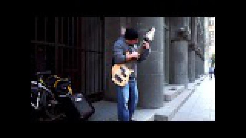 Уличный музыкант Василий Чернов PART TWO ¦ Street Musican Vasily Chernov