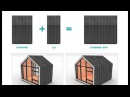 The Bunkie Modular wooden tiny homes - Monarch Deluxe Edition