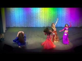 Belly Dance Improvisation ☀ Semifinal Solo ☀ Girls 14-15 yrs ☀ Ukraine Oryantal 19199