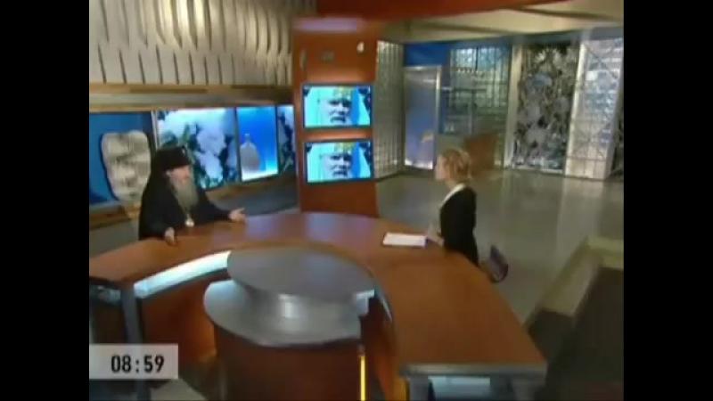 Конец Доброго утра, часы без звука и начало новостей в день траура (Первый канал, 09.12.2008)
