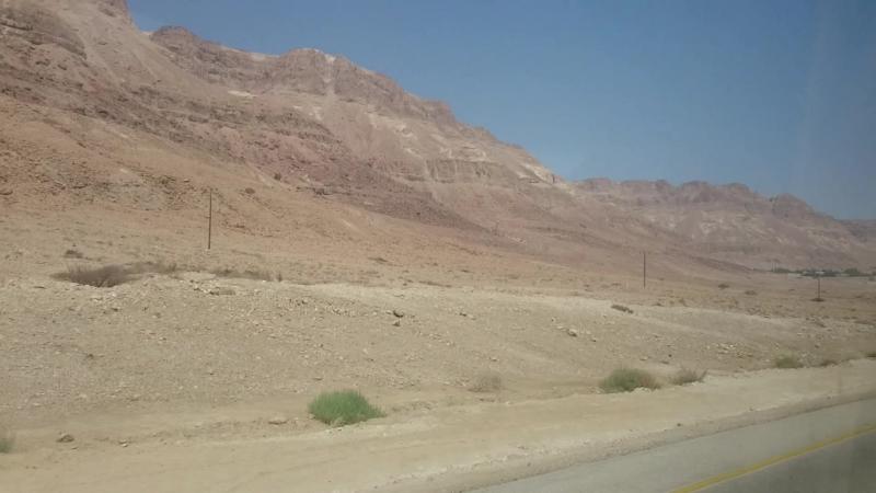 Эйн-Геди или по дороге в аэропорт Тель-Авива