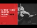 Обучение технике японского бондажа шибари от Максима Калахари