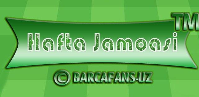 """Jirona""ga qarshi ""BARCAFANS"" jamoasi"