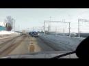 В Колодне машина такси прилегла на иномарку
