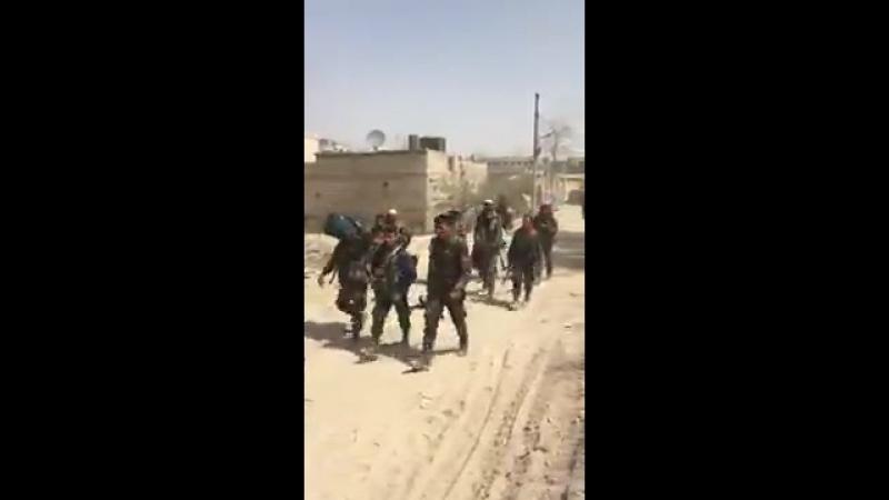 Бригада Абу Фадль Аль-Аббас в Восточной аль-Гуте