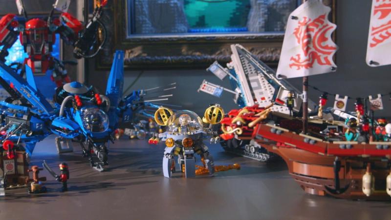 [The LEGO Ninjago Movie] Team Supreme: Building NINJAGO