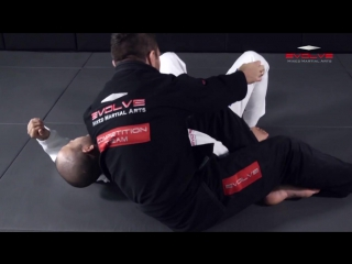 POWERFUL Reverse Omoplata Submission