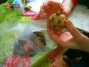 росток у луковицы лилии