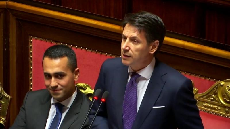 ITALIEN- Giuseppe Conte bleibt hart beim Thema Einwanderungspolitik