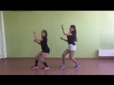 Зачет7: Вика, Ксюша - 1Million choreo - Breathe - Jax Jones (dance practice by X-Motion)