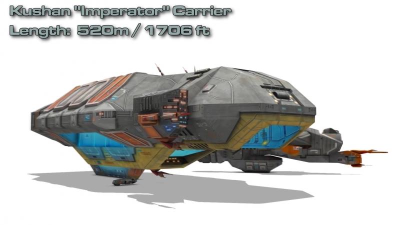 Homeworld Remastered Ship Sizes [1080p]