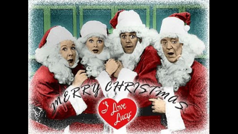 The I Love Lucy Christmas Special - Colorized