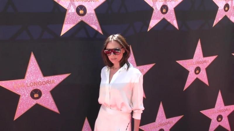 Victoria Beckham at Eva Longorias Hollywood Star Ceremony Post Luncheon at Eva Longorias house in