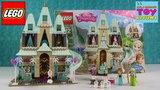 Lego Frozen Disney Princess | 41068 Arendelle Castle Celebration Unboxing | PSToyReviews