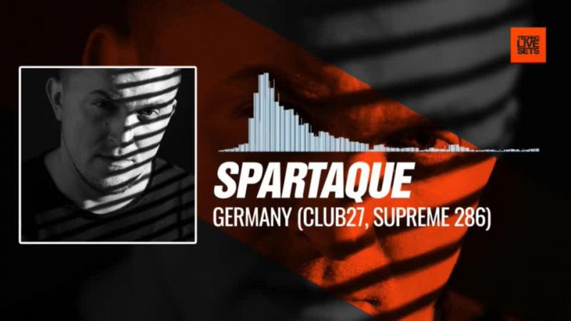 @spartaque - Tubingen, Germany (Club27, Supreme 286) 02-10-2017 Music Periscope Techno