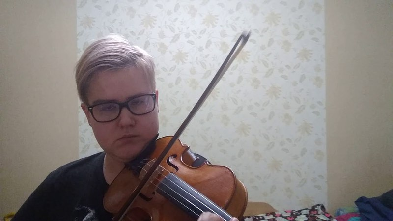 I Will Wait for You - violin (fragment)