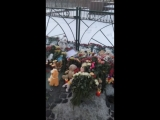 Питер скорбит по жертвам погибших в Кемерово