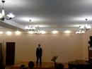 Михаил Вердиш поёт академическим вокалом